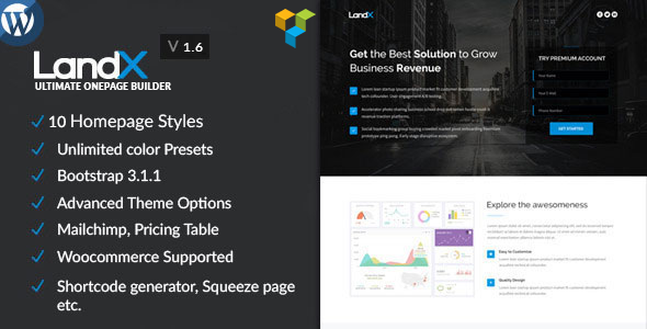 landx-multipurpose-wordpress-landing-page