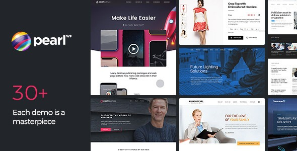 Pearl-Nulled-Corporate-Business-WordPress-Theme